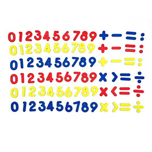 [해외]SpriteGru 기본 수학 교육용 102pcs 마그네틱 숫자 / SpriteGru 102pcs Magnetic Numbers for Basic Math Mathematics Education