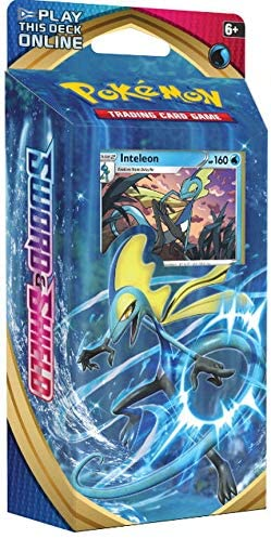Cinderace Pokemon Sword /& Shield Theme Decks Triple Pack ft Rillaboom Inteleon