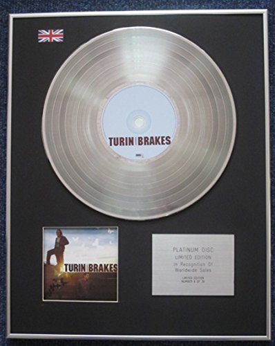 Turin Brakes - Limited Edition CD Platinum LP Disc - Jack in a (Century Gold Music Box)