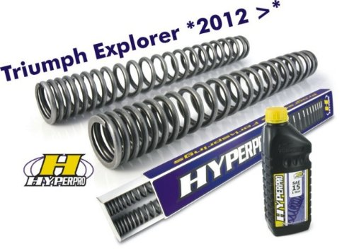 TOURATECH(ツラーテック): フロントフォークスプリング Triumph Explorer (2012-)   B00BRGC0HC