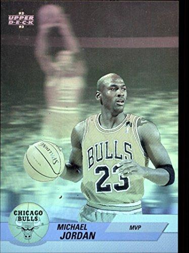 1992-93 Upper Deck Award Winner Holograms #AW9 Michael Jordan MVP (Deck Upper Hologram)