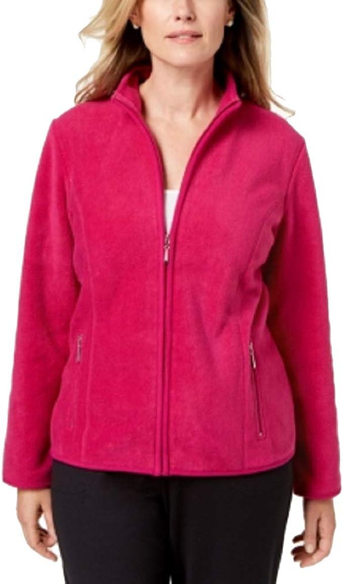 Karen Scott Zeroproof Fleece Jacket