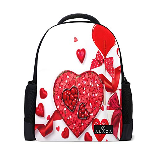 Valentine's Day Gift Fruit Backpack Womens Laptop Daypack School Hiking Mens Travel Bags -