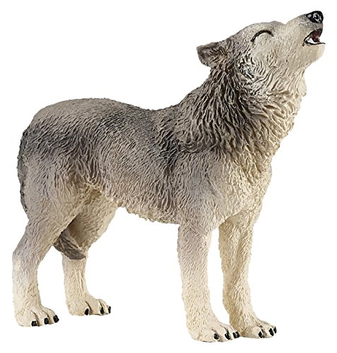 Papo Howling Wolf Figure (Howling Wolf Wolf)