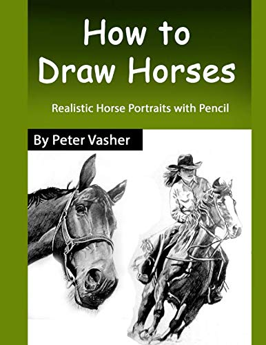 (How to Draw Horses: Realistic Horse Portrait with Pencil)