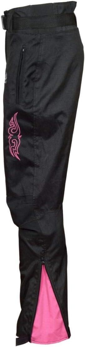 desmontables resistentes al viento 100/% impermeables Pantalones de moto para mujer resistentes protecci/ón aprobada CE.