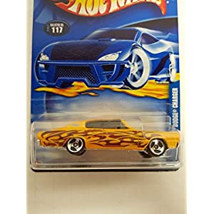 '67 Dodge Charger Hot Wheels 2002 diecast 1/64 scale car No. 117
