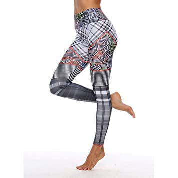 KYHMSL Pantalones De Yoga para Mujer Leggings De Yoga ...