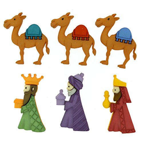 Dress It Up 8048 Buttons We Three Kings