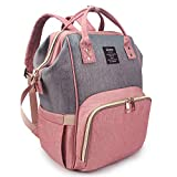 Qimiaobaby Diaper Bag Backpack Multi-Function Large Capacity Waterproof Insulation Travel Bag, Baby...