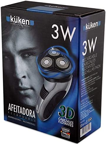 Alfa 11475 - Afeitadora recargable 230v kuken: Amazon.es: Bricolaje y herramientas