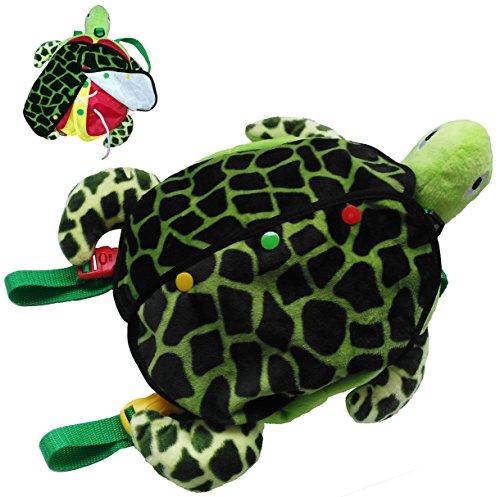 Yoovi Montessori Learn to Dress Toys Sea Turtle Plush Toys -
