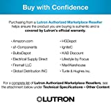 Lutron Caseta Smart Home Dimmer Switch, Works with