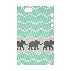 3D Stevebrown5v elephant pattern fabric Case For Sam Sung Note 3 Cover With Unique Design With White