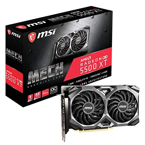 MSI Gaming Radeon RX 5500 XT...