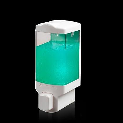 XUE- / Jabón Moderno Dspenser Casa Ducha Gel Shampoo Dispensador Cabeza única (size74 *