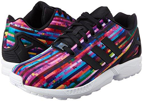 Uomo Flux Nero Zx Sneaker Adidas Basse CUwPI