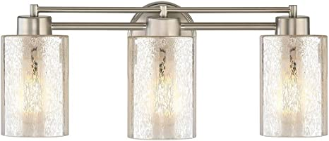 Design Classics Lighting Mercury Glass Bathroom Light Satin Nickel Amazon Com