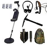 Visua Professional Discriminating Metal Detector (Detector Kit: H/Phones Batts & Pick)