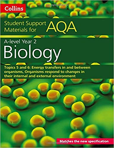 AQA A level Biology Year 2 Topics 5 and 6: Energy transfers