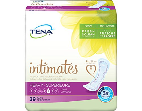 Review Tena/Intimates Heavy Pads Long,