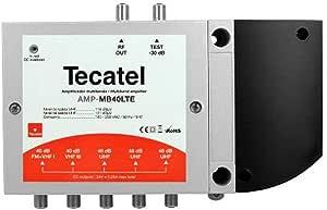 Tecatel amplificacion - Amplificador multibanda 50db bi+fm biii ...