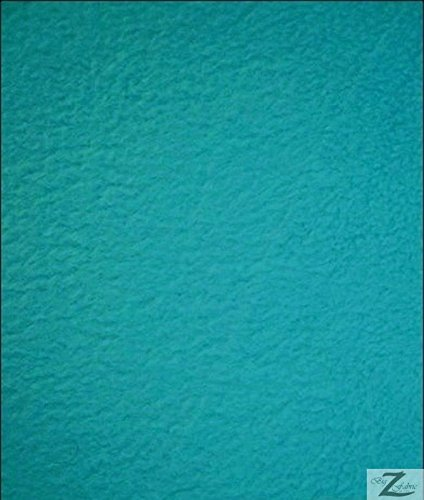 Turquoise Solid Polar Fleece