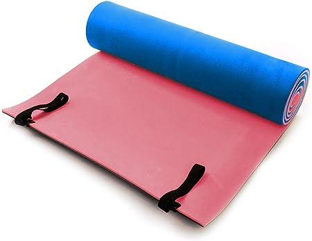 ABA colchoneta para Camping | Yoga Fitness Esterilla para Pilates | Espuma | 180 x 50 x 1 cm