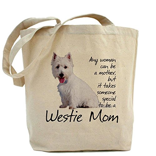 CafePress Westie Mom Tote Bag - Standard Multi-color by CafePress