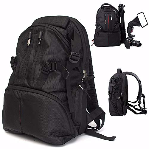 Shentesel Professional Waterproof Backpack Photography Package SLR Camera Laptop Bag Pouch - Black by Shentesel (Image #8)