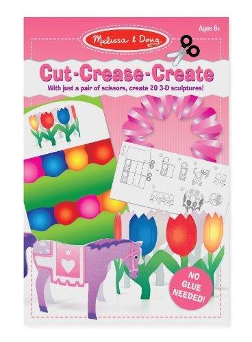 Melissa & Doug Cut Crease Create Toy, Pink