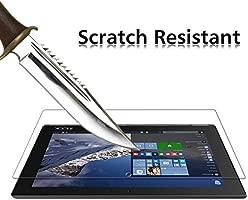 iVoler Protector de Pantalla para Lenovo Yoga Book 10.1 Pulgadas, Cristal Vidrio Templado Premium