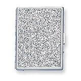 canada cigarette holder - Nickel-plated Glitter (Holds 9-100mm) Cigarette/Card Case