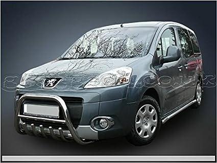 Barras laterales de acero inoxidable para Peugeot: Amazon.es: Coche y moto
