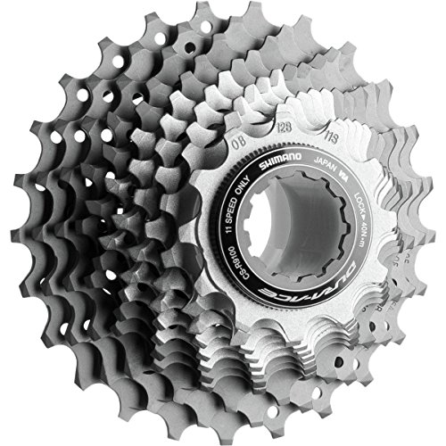 SHIMANO Dura-Ace CS-R9100 11-Speed Cassette One Color, 11-30 Dura Ace 10 Speed Cassette