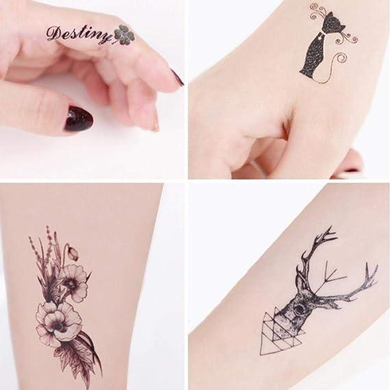 Tatuaje Pegatinas de tatuaje para hombres y mujeres Impermeables ...