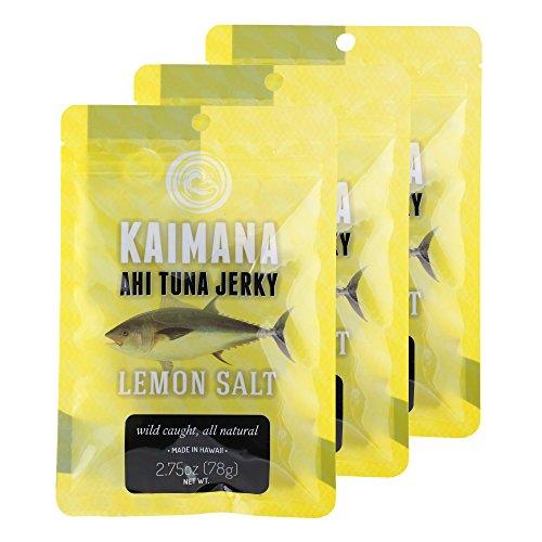 Lemon Salt Ahi Tuna Jerky (3 Pack)