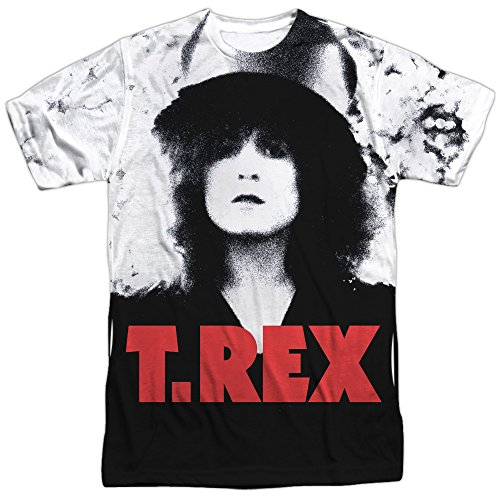 T. Rex- The Slider Cover Art (Front/Back) T-Shirt Size - Rex Slider