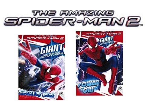 Marvel The Amazing Spider-Man 2 Movie Coloring and Activity Book Set of 2