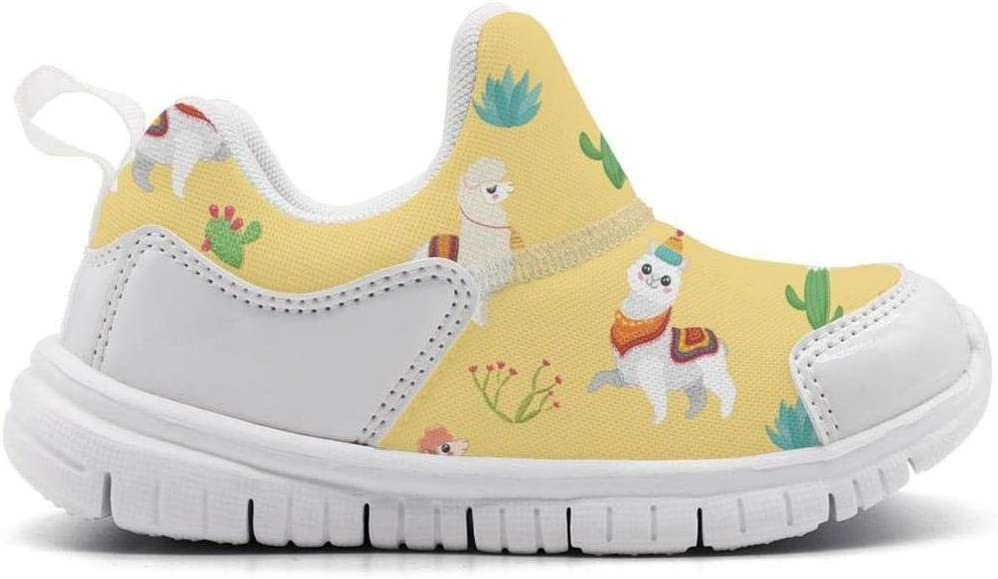 ONEYUAN Children Cute Catus Llama Kid Casual Lightweight Sport Shoes Sneakers Running Shoes