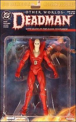 3 Dead Man Action Figure - DC Comics - DC Direct/Kingdom Come - Wave 3 - Deadman Collector Action Figure