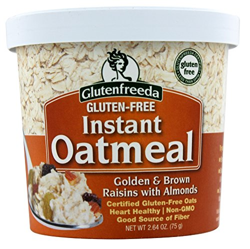 Glutenfreeda - Instant Oatmeal Cup Golden & Brown Raisins with Almonds - 2.64 oz (pack of 2)