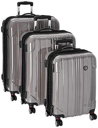 travelers-choice-sedona-100-pure-polycarbonate-3-piece-expandable-spinner-luggage-in-pewter