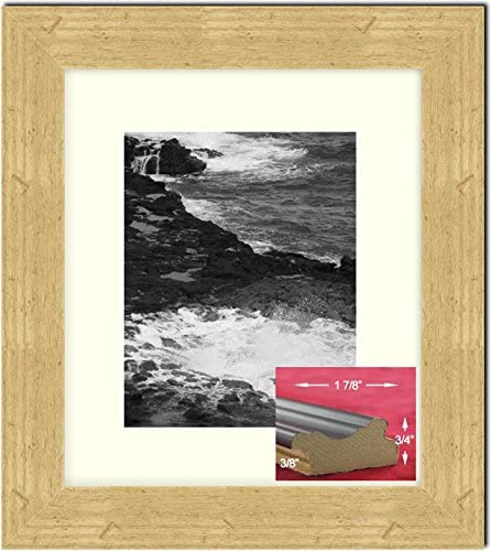 Artwork Pictures Great for Frames Golden State Art Prints 16x20 for 12x16 Pink Color Picture Photo Mat -White-core Acid-Free Pack of 10