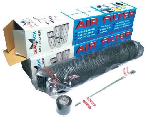 Odor-Sok Air Filters Odor-Sok 6 in x 16 in 380 CFM (16/Cs) by Odor-Sok Air Filters