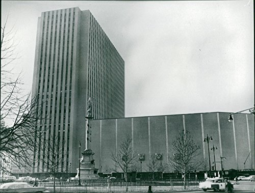 New York Coliseum was a convention center that stood at Columbus Circle in New York City (Columbus City Center)