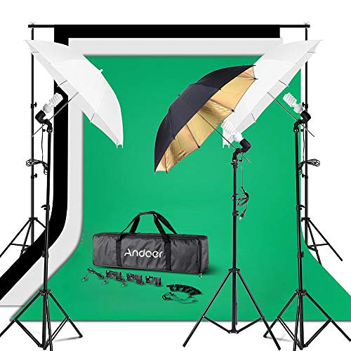 Andoer Photography Umbrella Continuous