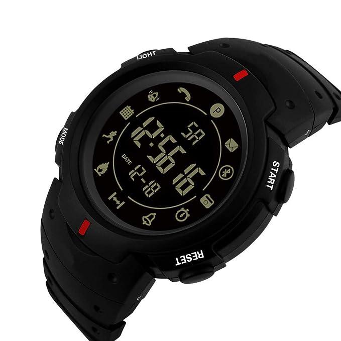 Longra❤ ❤ Hombres Relojes Deportivos, Smartwatch Fashion 33 Meses Tiempo de Espera 24h: Amazon.es: Deportes y aire libre