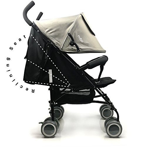 5 Point Harness Reclining Stroller - 1