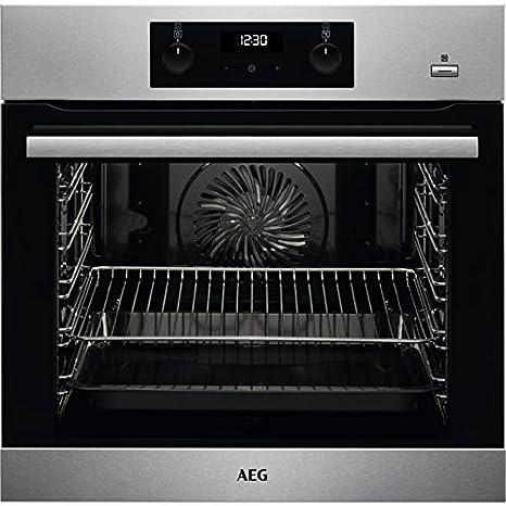 AEG BEB355020M - Horno (Medio, Horno eléctrico, 71 L, 71 L ...